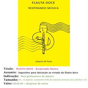 Flauta Doce – Respirando a Música